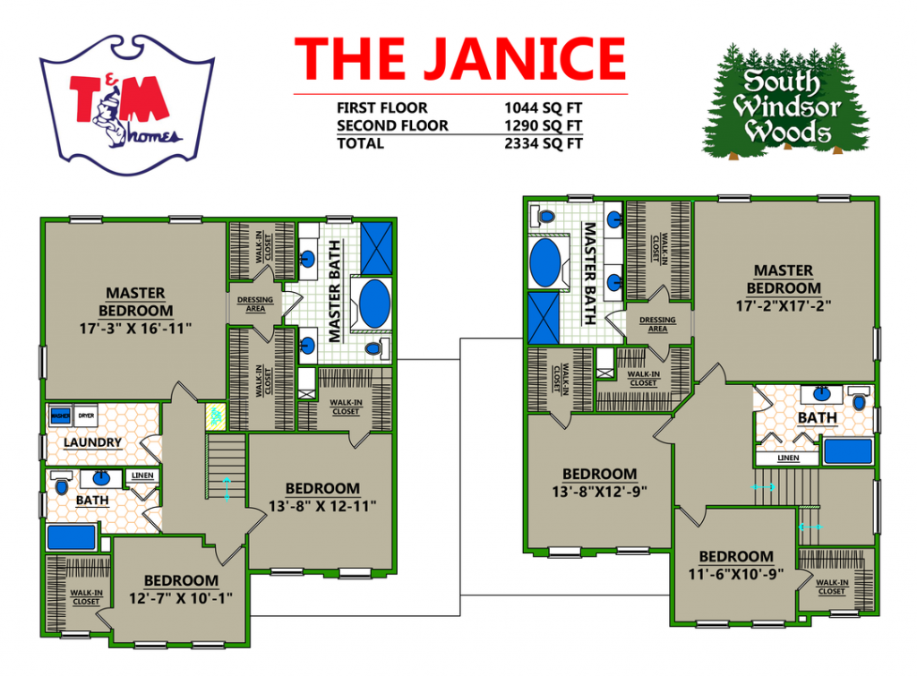 The Janice - Layout